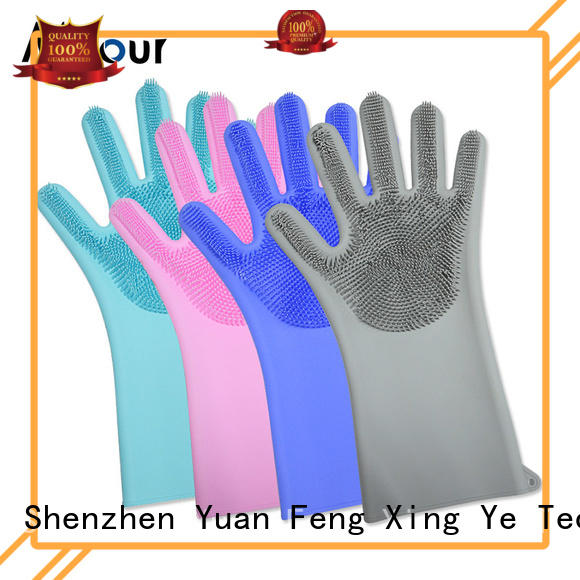 Mitour Silicone Products on-sale silicone washing gloves factory price for kitchen