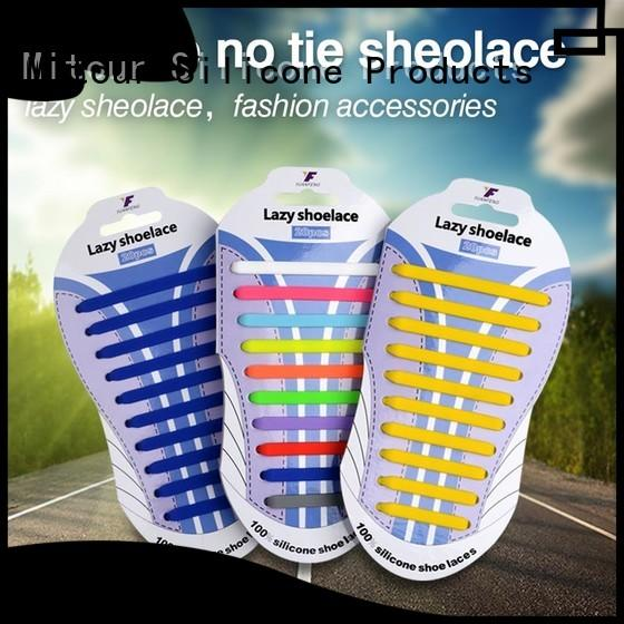 custom hilaces silicone shoelace for boots