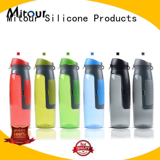 water Custom cup water bottle silicone sleeve kettle Mitour Silicone Products