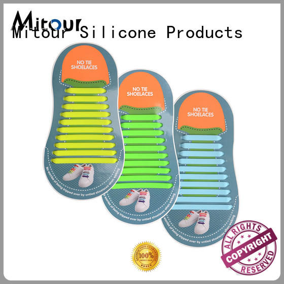 silicone shoelaces for shoes Mitour Silicone Products
