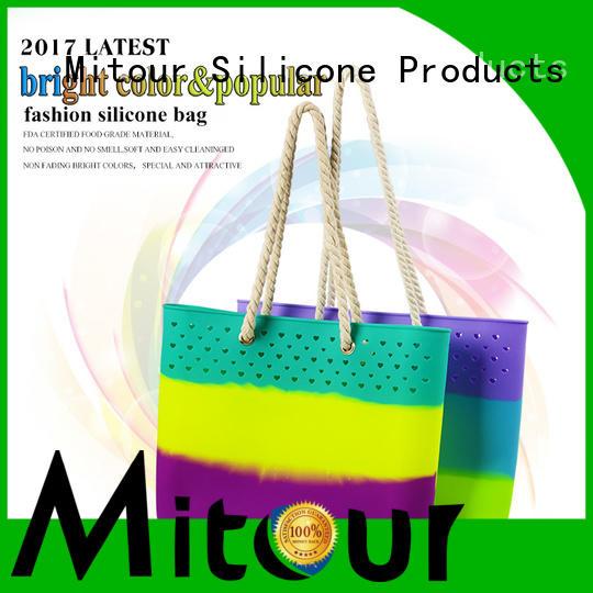 ODM pvc handbag handbag for school Mitour Silicone Products