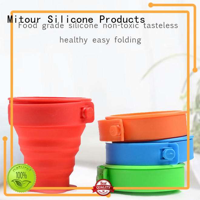 storage sports straight OEM water bottle silicone sleeve Mitour Silicone Products
