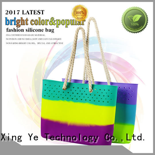 Mitour Silicone Products wholesale silicone beach tote for girls