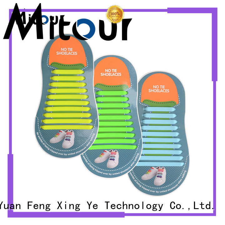 Mitour Silicone Products shoelace accessories manufacturers for shoes