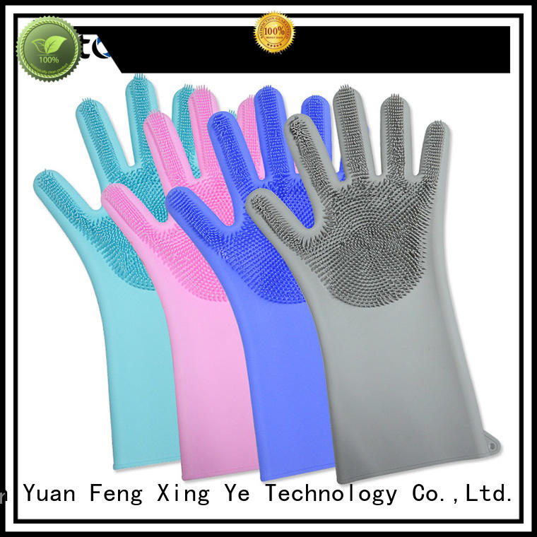 Mitour Silicone Products by bulk scrubbing gloves gloves for hands protection