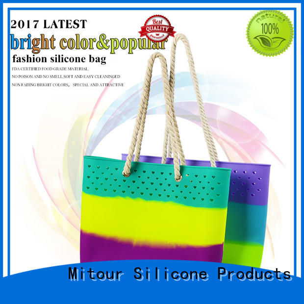 silicone handbag beach for trip Mitour Silicone Products
