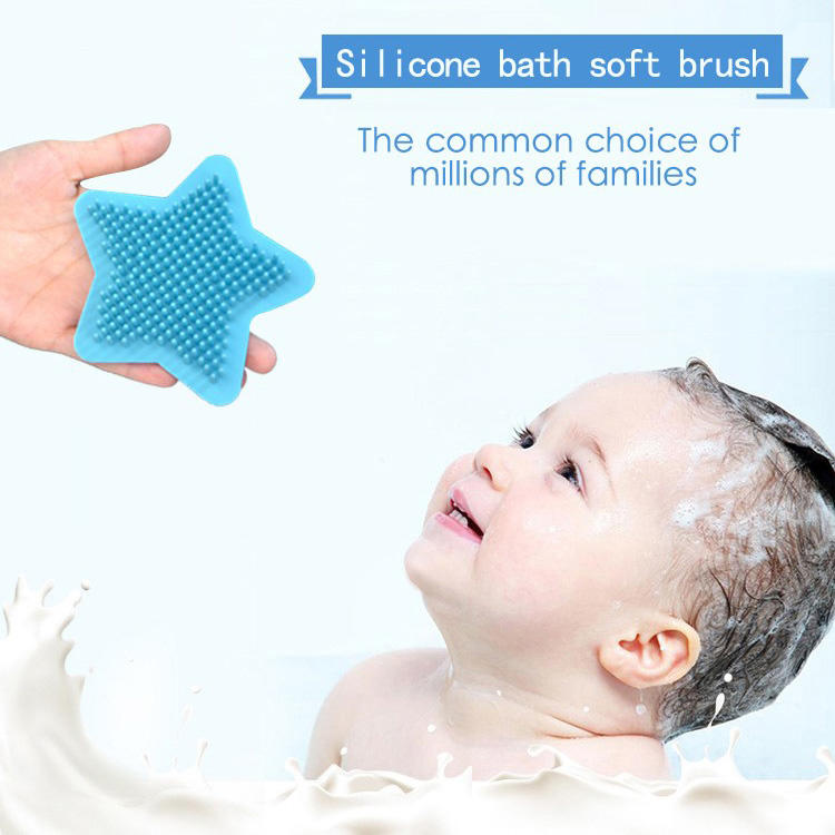hot-sale silicone baby brush bulk production for shower-1