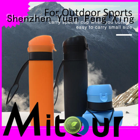 Mitour Silicone Products New silicone glass bottle for wholesale for water storage