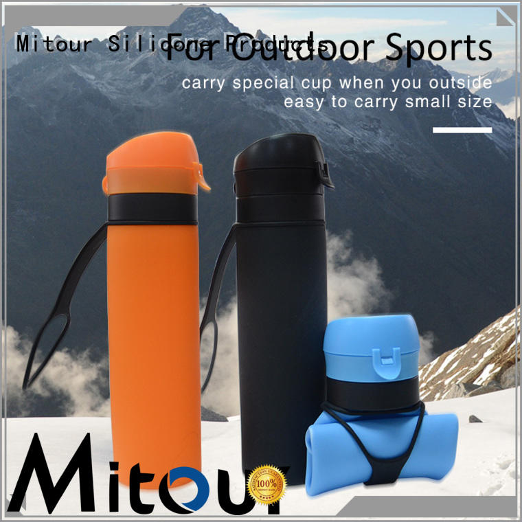 Mitour Silicone Products camouflage silicone bottle bulk production for children