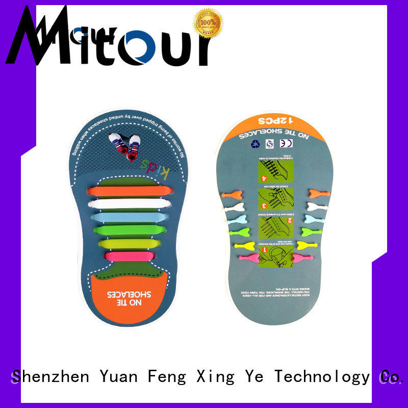 Mitour Silicone Products lazy silicone no tie shoelaces for shoes