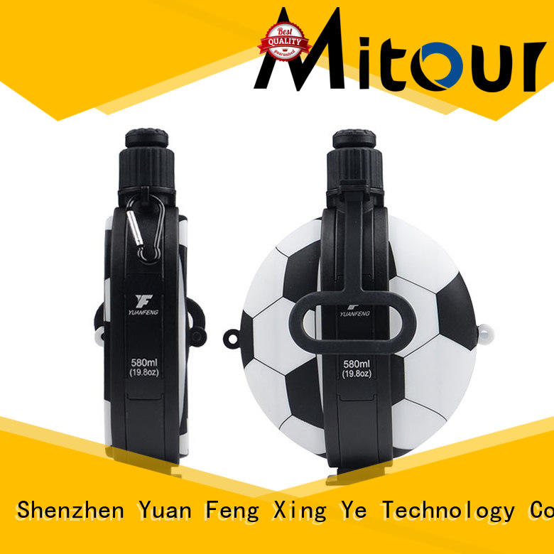 Mitour Silicone Products Top glass water bottle price bulk production for children