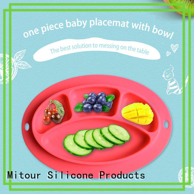 Mitour Silicone Products hot-sale baby placemat for business for baby