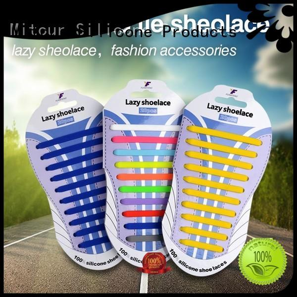 Mitour Silicone Products high-quality silicone shoelaces free sample for shoes