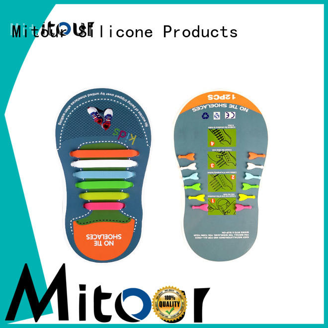 Mitour Silicone Products bulk custom shoelaces factory for boots