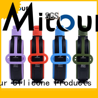 Mitour Silicone Products universal silicone squeeze water bottle for wholesale for water storage