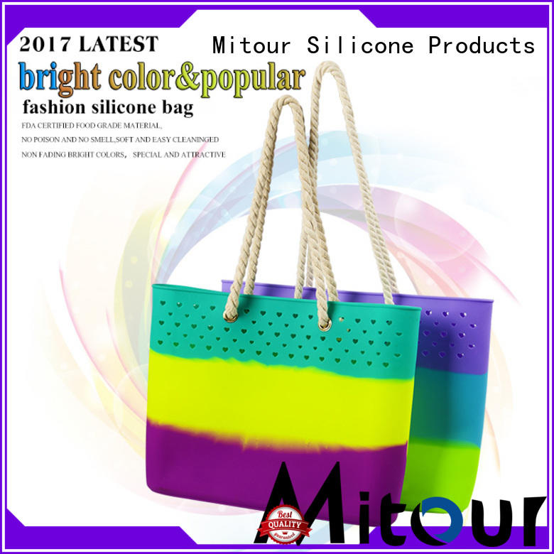 beach silicone travel bag custom for trip Mitour Silicone Products