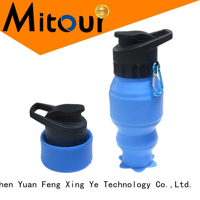 Mitour Silicone Products purse silicone milk bottle supplier for water storage