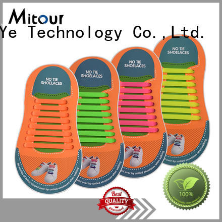 silicone shoelace silicone for child Mitour Silicone Products
