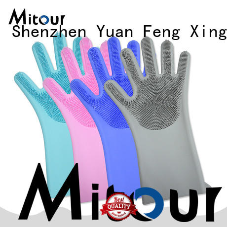 Mitour Silicone Products gloves silicone oven mitts OEM for kitchen