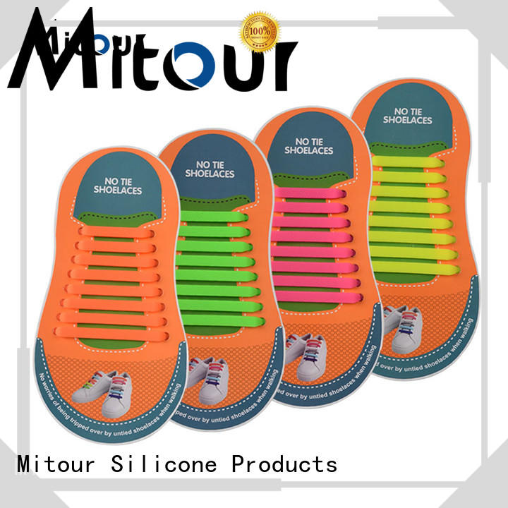 Mitour Silicone Products silicone silicone shoelaces for child
