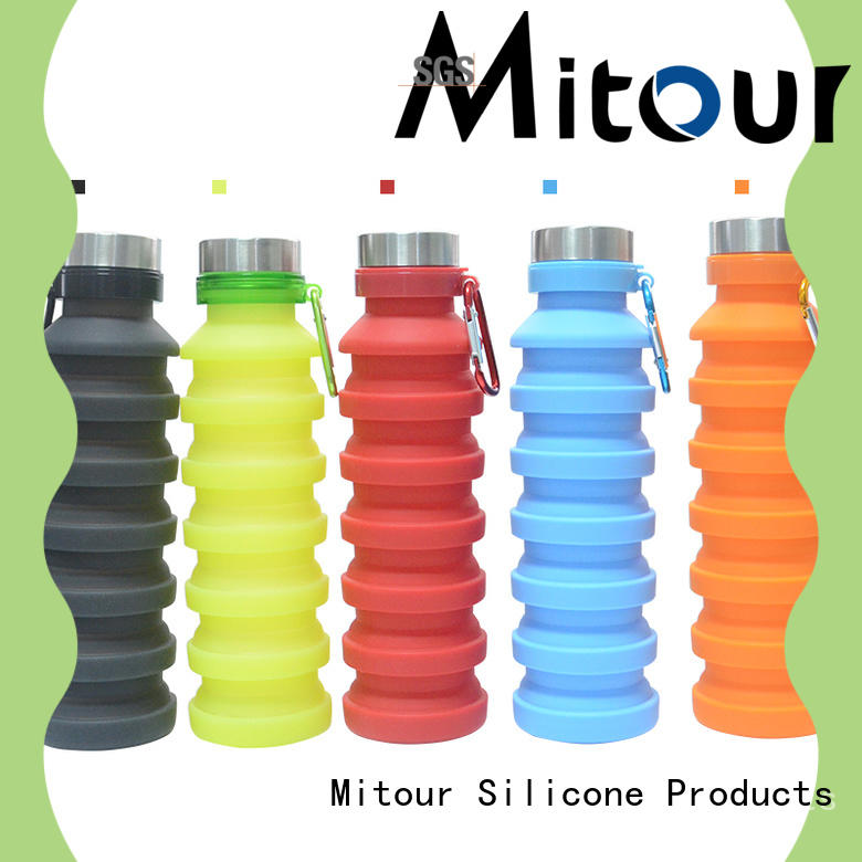 portable collapsible flask silicone inquire now for water storage