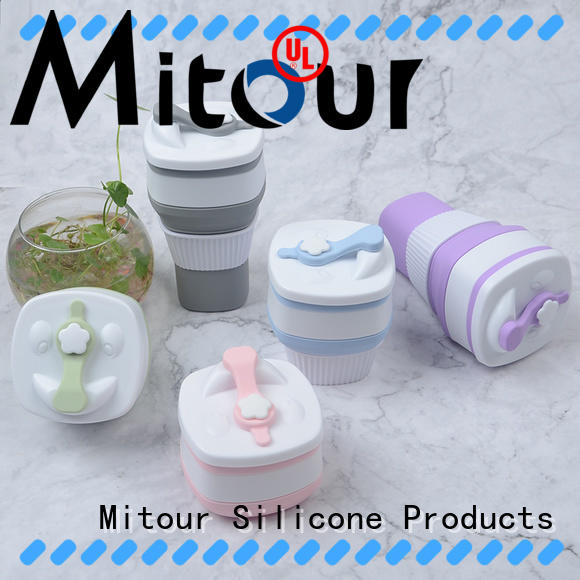 Mitour Silicone Products portable ultralight water bottle inquire now for children