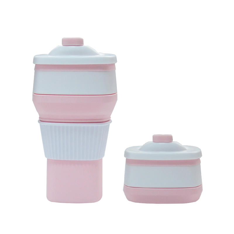 Silicone Folding Collapsible Coffee Cup For Travel