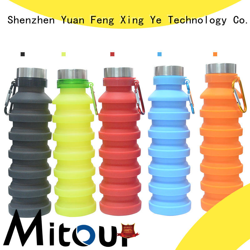 Mitour Silicone Products New collapsible water jug supplier for children