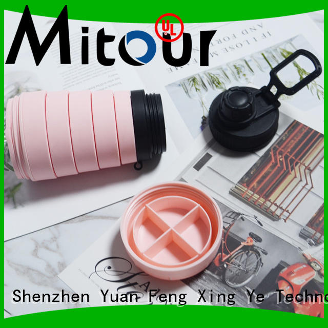 Top silicone milk bottle camouflage for water storage