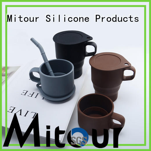 Mitour Silicone Products football silicone cup for water storage