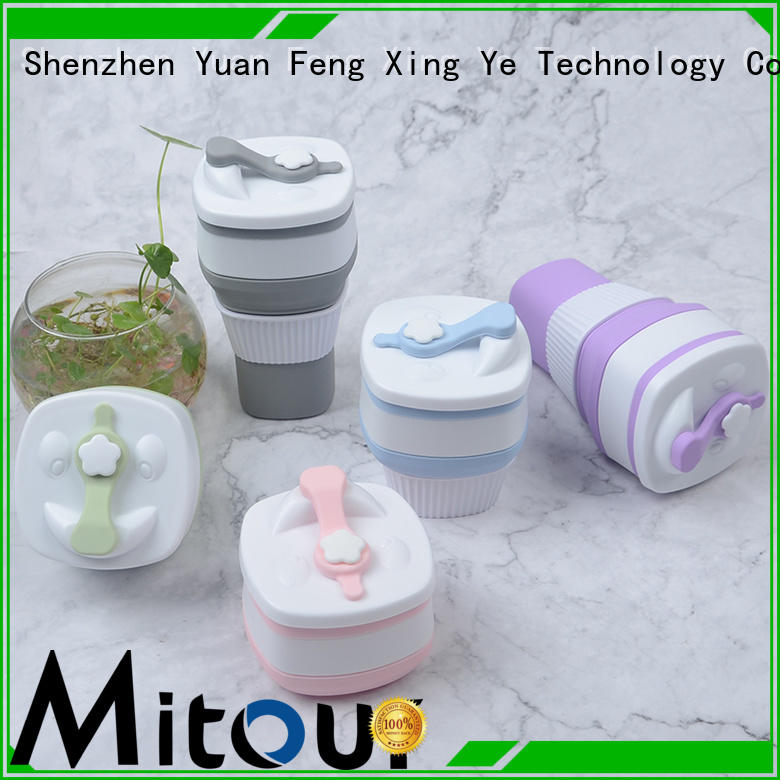 Mitour Silicone Products kettle silicone collapsible bottle inquire now for children