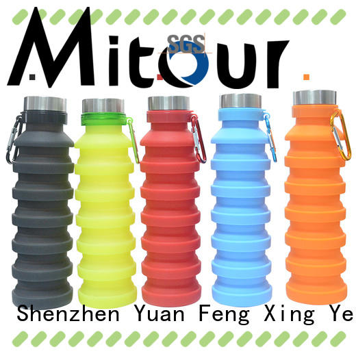 foldable silicone travel bottles cup for children