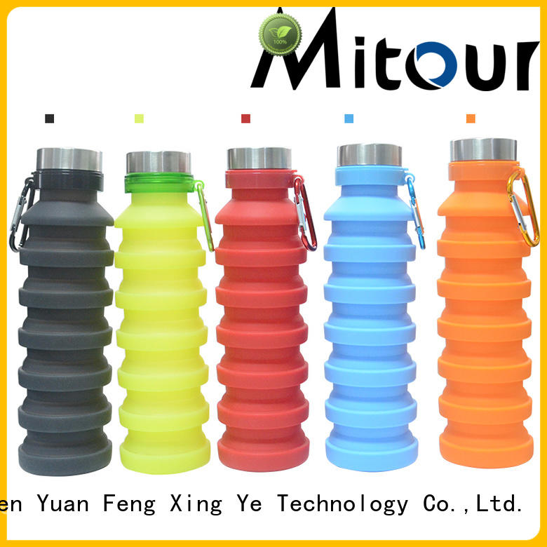 Mitour Silicone Products squeeze silicone travel bottles for children