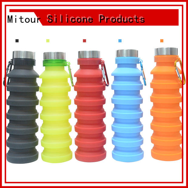 Mitour Silicone Products Wholesale eco glass bottle inquire now for water storage