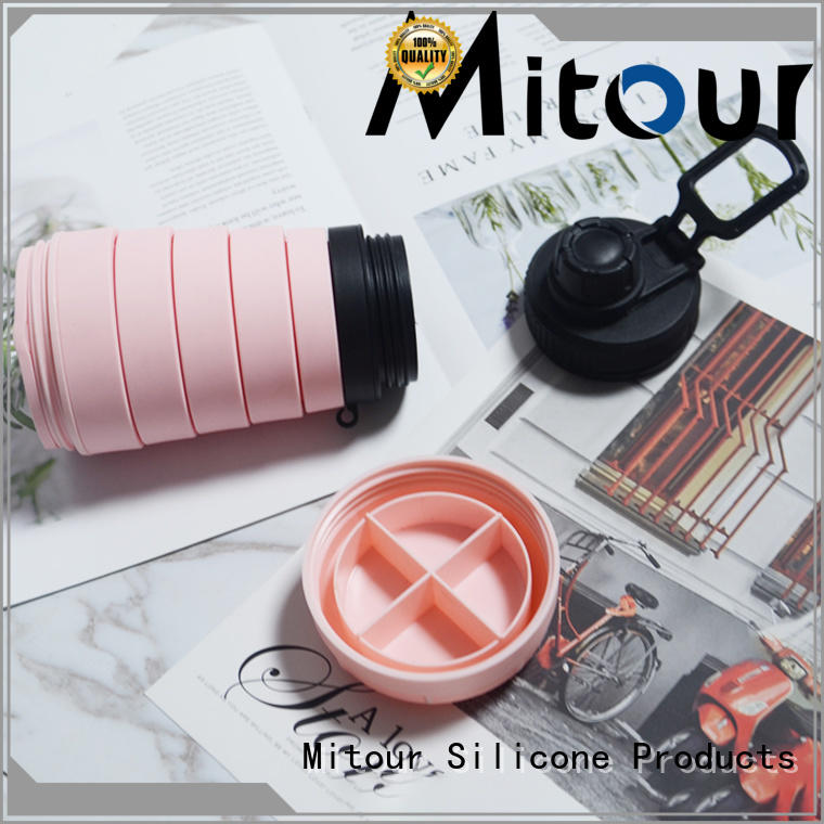 foldable silicone cup for water storage