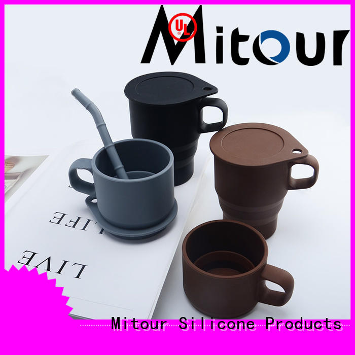 Mitour Silicone Products folding silicone milk bottle inquire now for children