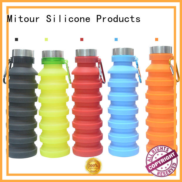 folding silicone cup for wholesale for water storage