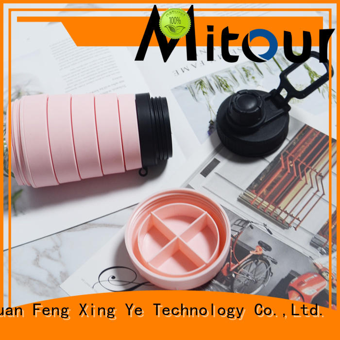 Mitour Silicone Products outdoor mist water bottle bulk production for water storage