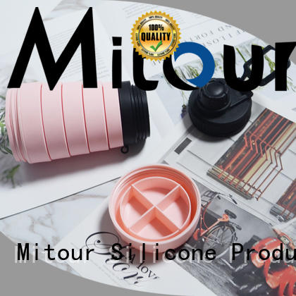 Mitour Silicone Products Best smart water bottle sizes for water storage