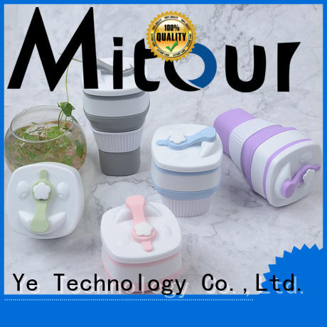 Mitour Silicone Products cup glass bottle sleeve for water storage