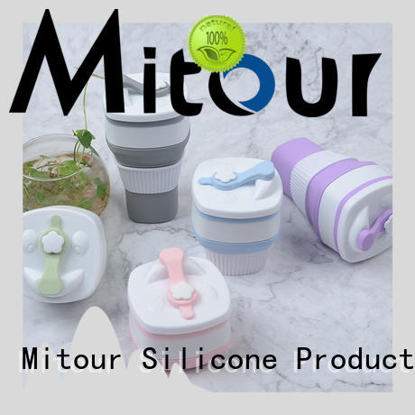 Mitour Silicone Products Top eco glass bottle for children
