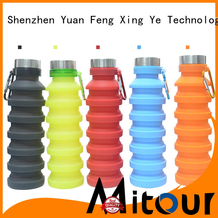 Mitour Silicone Products straight silicone roll bottle for water storage