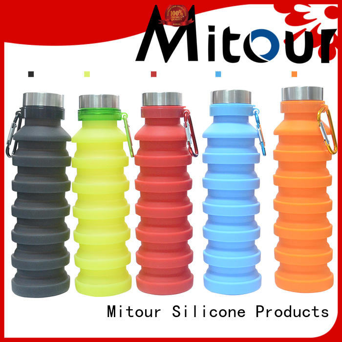 Mitour Silicone Products folding silicone travel bottles inquire now for children