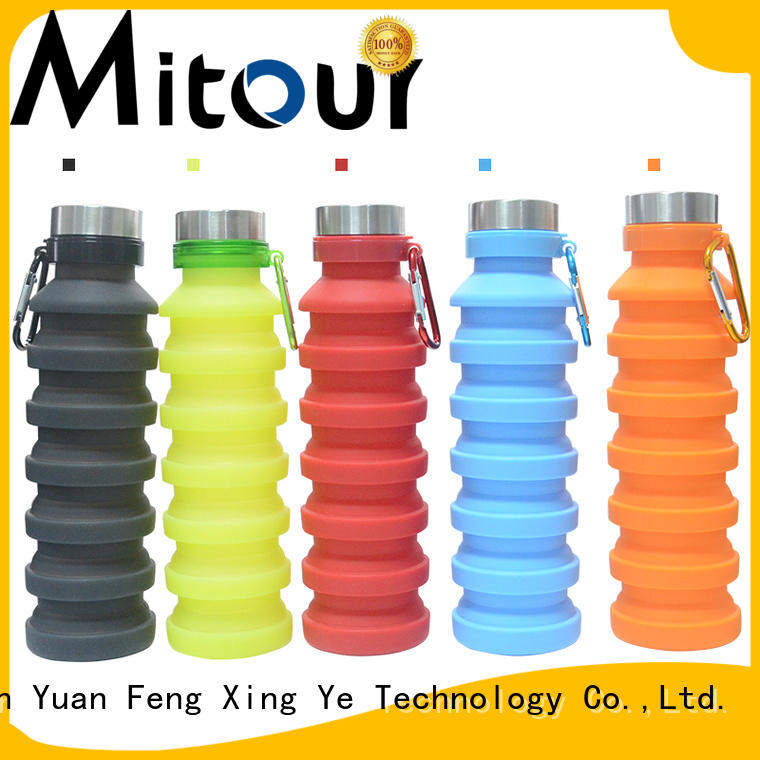 Mitour Silicone Products outdoor water bottle trick for children