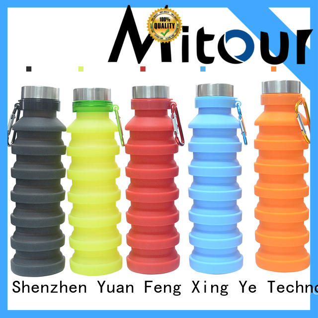Mitour Silicone Products purse kids glass water bottle for water storage